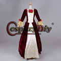 Beauty and the Beast princess Bell cosplay costume Beautiful Belle fancy Dress