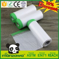 Hot selling masking film with tapes