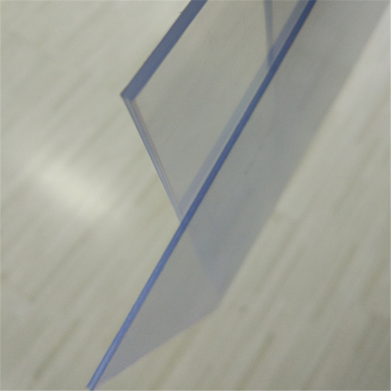 Extruded high transparent clear rigid PVC plastic sheet