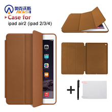 Original protective cover case for iPad Air 2/3/4 With Magnetic Auto Wake & Sleep Function