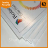 Great cost performance clear pvc plastic print board supply
