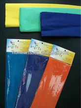 Crepe VCI paper with strips