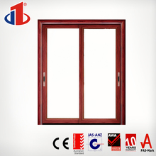 Aluminium frame exterior glass folding door stainless steel mesh french door