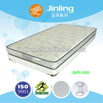2013 New Style 3D material bonnell spring mattress(spinal cord protection)