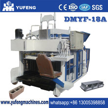 18 BLOCK PER MOLD!! DMYF-18A Egg laying concrete block making machine