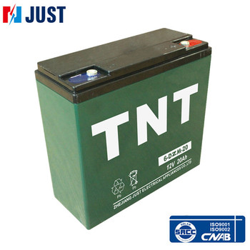 Warranty one years 6-dzm-20 lead acid 12v 20ah electric vehicle battery