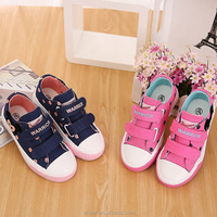 2017 Newest Custom Cheap New Trend Discount Wholesale Casual Canvas Shoes Girls Shoes For Girls