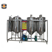 cooking oil refining machine/groudnut oil refinery equipment/sunflower soybean oil refining plant for oil