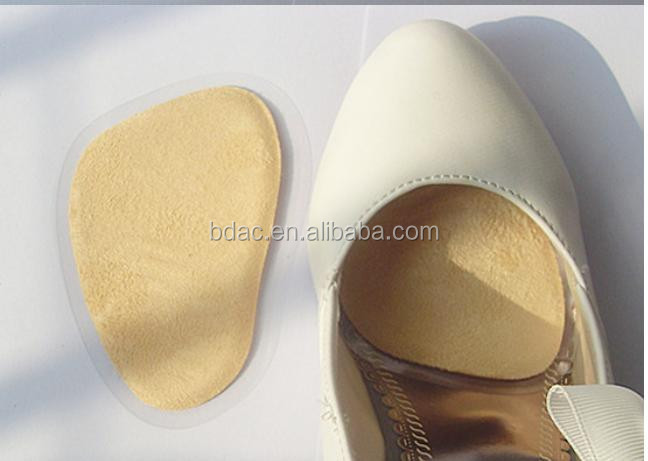 hot sale adhesive shoe pads sandal gel insoles for shoes