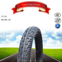 2015 taiwan quality Motorcycle tubeless Tyre 90/90-18 made in china
