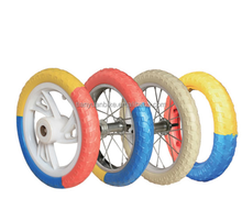kids bicycle foam EVA tire. colorful bike foam tire. bicycle EVA tire
