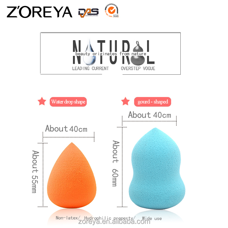 ZOREYA cosmetic kits Sponge Material and Yes Washable Compact Makeup Powder Puff