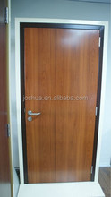 UL & ULC CSA fire rated wood door with steel frame 45 minutes fire rated door