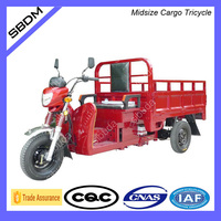 Sibuda Newest Model Three Wheel Motocycle Cargo Tricycle