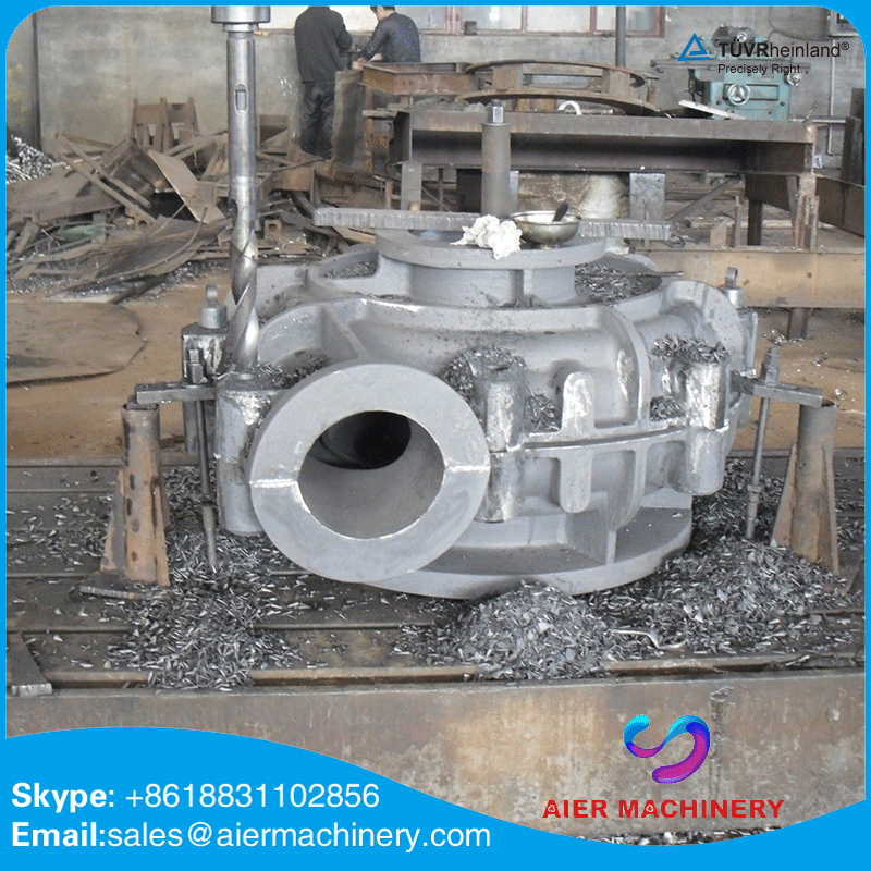 heavy duty A05 single stage slurry diesel mud pump