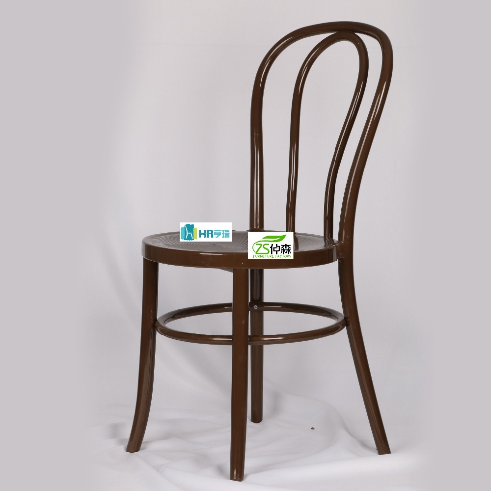 Resin Thonet bentwood dining chair plastic event banquet party rental chair