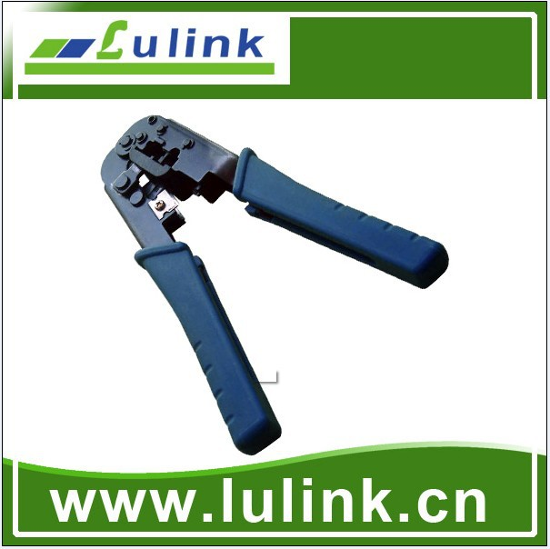 High quality Chinese Cat6 RJ45 RJ11 Network Crimping Tool with Ratchet from lulink