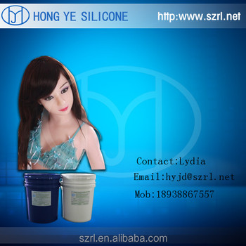 life casting silicone rubber for sex doll