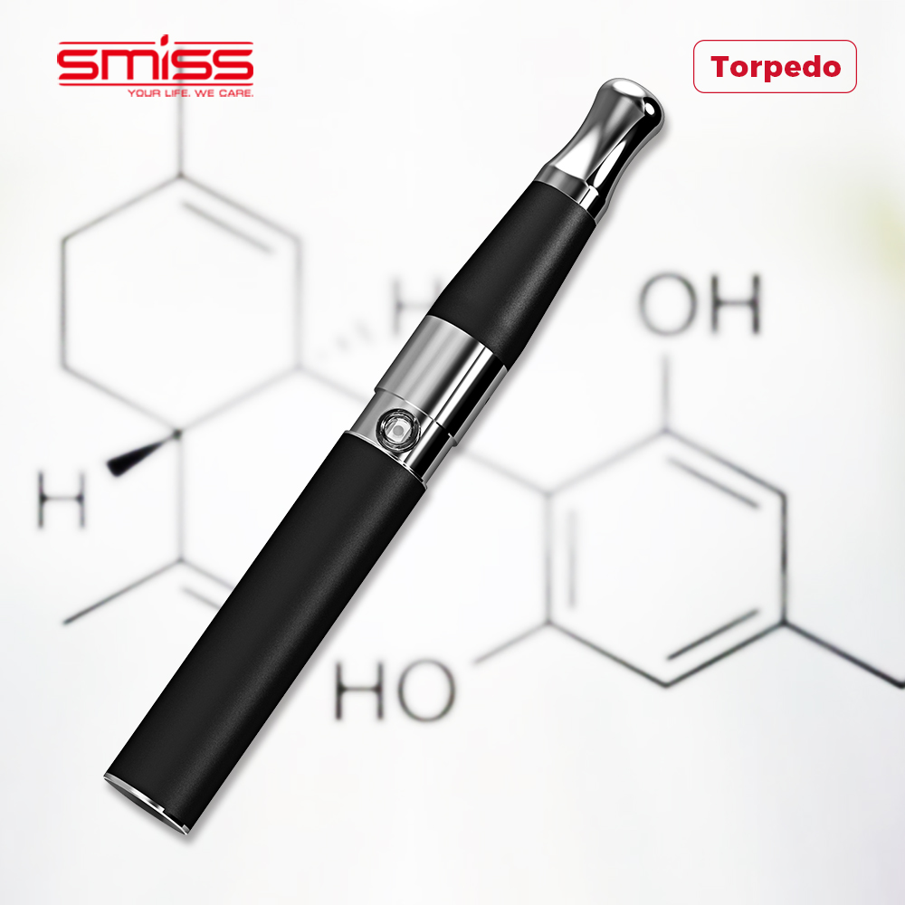 SMISS Top Rated Electronic Vape Glass Coil Wax Pen Vape Electronic Cigarette