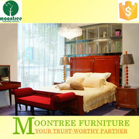 Moontree MBD-1105 teak wood modern day bed designs