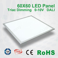 upshine led office light CE RoHS TUV approved 36w 45w dimmable recessed surface mounted 600x600 led panel light