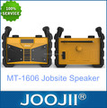 Newly design jobsite radio, portable waterproof clock radio