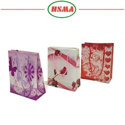 Good quality christmas wine gift bags paper gift bags