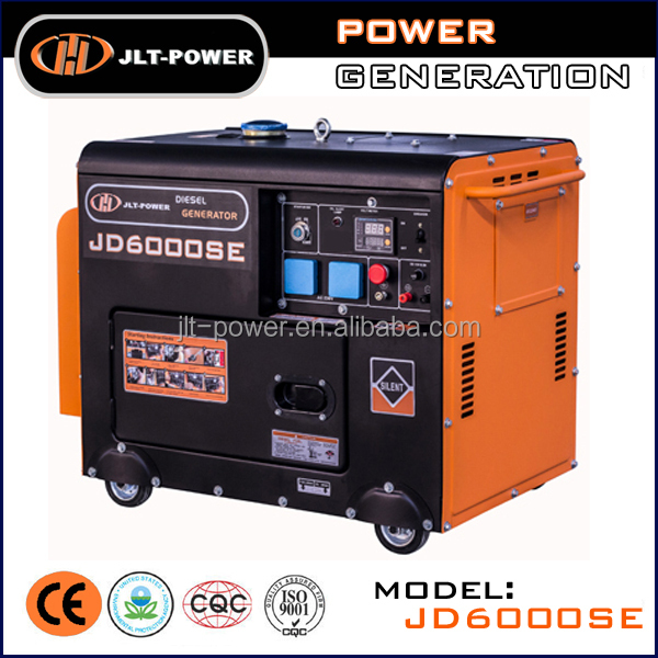 Hot!Home use generator price 5kw 186fa 10hp copper wire winding diesel generator