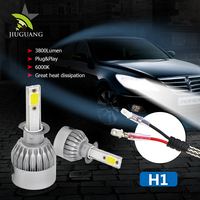 Wholesale Super Bright DC 12V 24V H1 H3 880 881 Led Headlight H4 H7 ,9005 C6 Led Headlight Bulbs