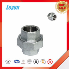 NPT male threaded malleable forged pipe union