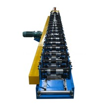 quick production metal tile rain gutter sheet roll forming machine