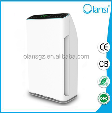 Negative ion HEPA air cleaner,filter P.M 2.5 HEPA ionizer air purifier,220V AC motor air purifier for USA market