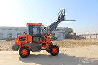 JINHUI 1.5 Ton JH15F Mini Wheel Loader With EPA/Euro III engine