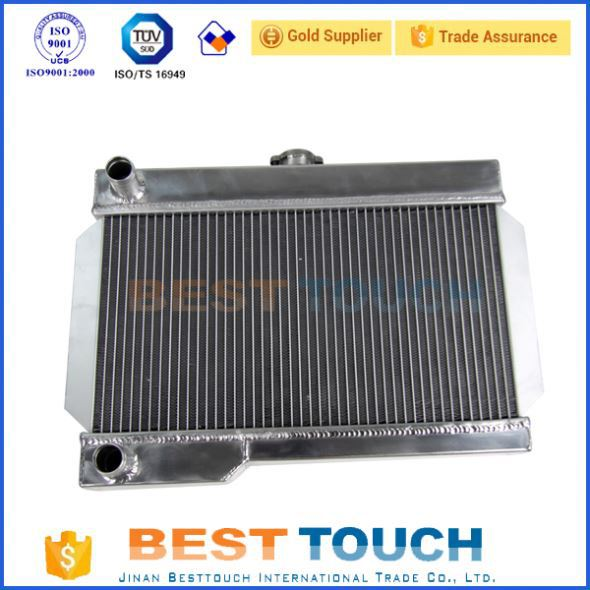 Customized water cooling bus radiator for rx7 fd3s