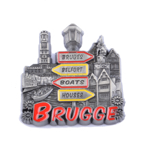 Custom Metal Made Funny 3d Souvenir Fridge Magnet