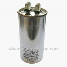 aluminum case cbb65 air condition ac motor capacitor 7uf 40uf
