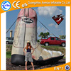 High quality giant advertising product shoes inflatable boot, inflatable high-heel shoes