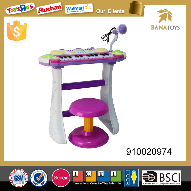 Funny musical instruments keyboard electronic organ