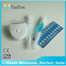 Carbamide peroxide tooth whitening gel pen+remineralizing gel + LED blue or white light whitening kits