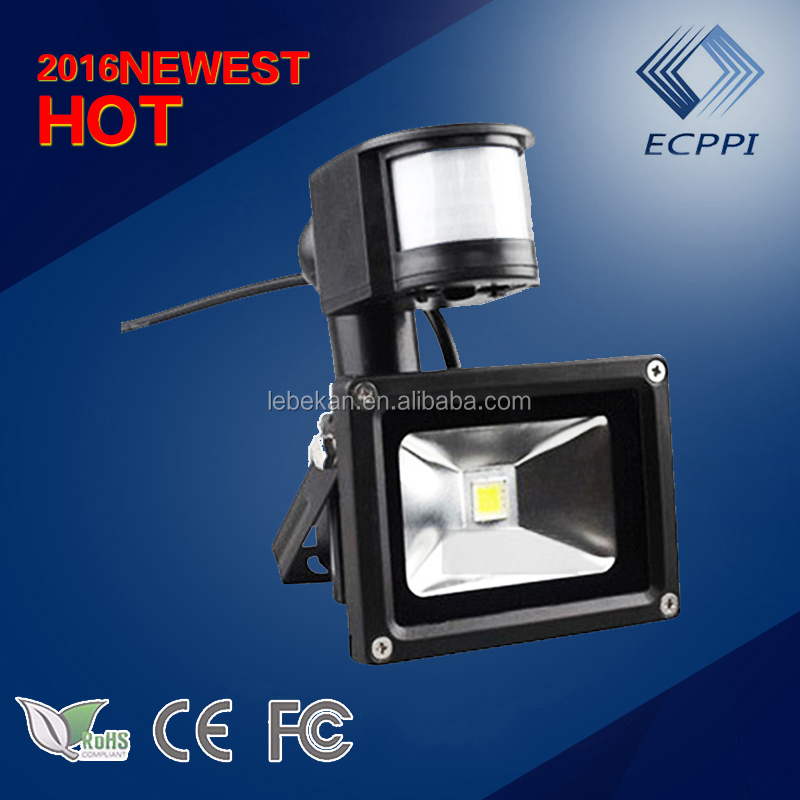 Latest Hot Selling Wholesale PIR Sensor 50w led flood light garden road for commecial lighting