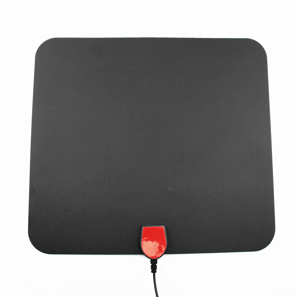 Pendoo TV Antenna HD TV DIV VHF UHF Flat High Gain digital TV antenna adhesive mount