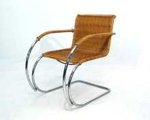 Mr Lounge Chair da Ludwig Mies van der Rohe rattan/