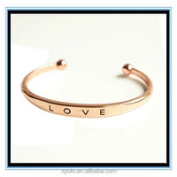XP-MB-10499 FACTORY PRICE 18k gold jewelry love bracelet