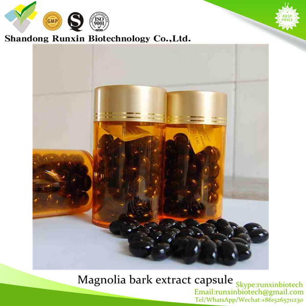 New product stress relief Magnolia bark extract capsule softgel