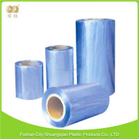 Popular factory direct sales bottled beverage Blow Molding pvc overlay film