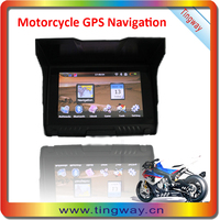 "High Performance 5.0"" Motorcycle Gps Moto T-307"