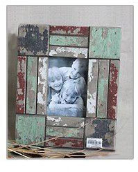 Vintage Handmade Antique White French Picture Frames