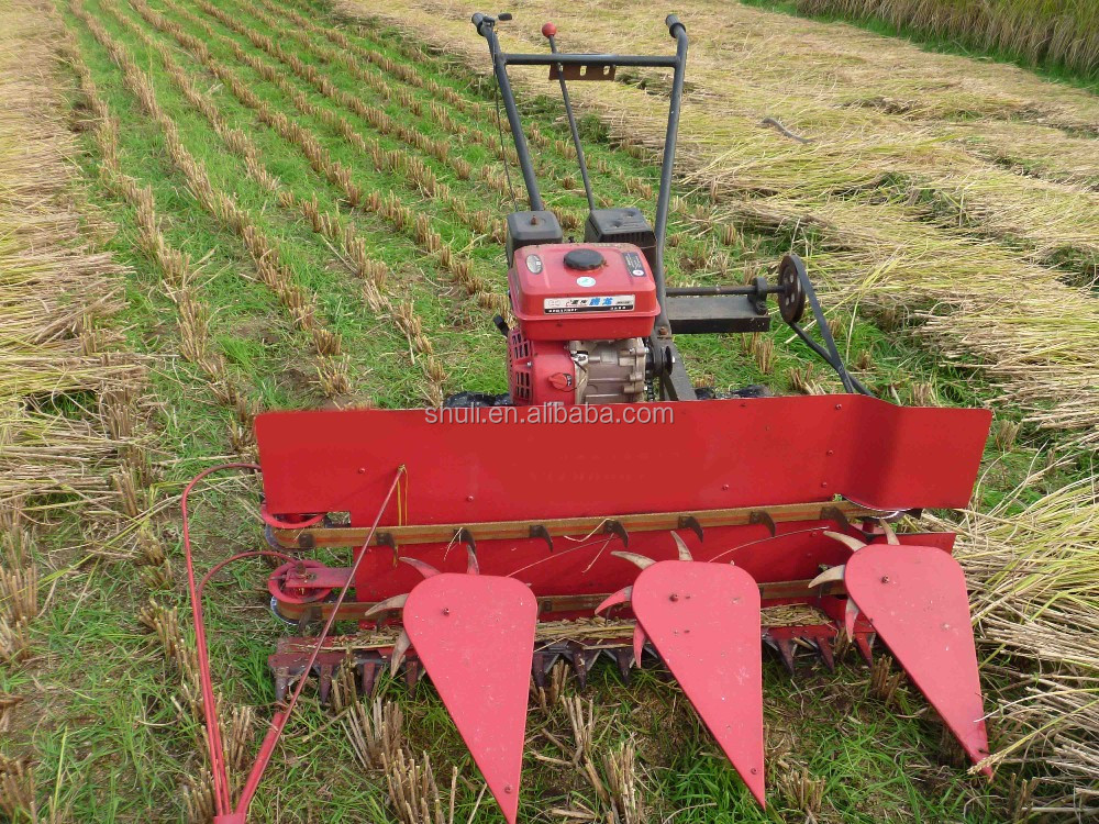 Portable Rice Cutter Rice Harvesting Machine Hot