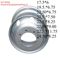 truck steel truck wheel rims19.5x6.75