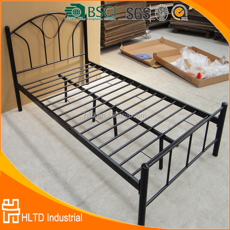 Modern high-grade Metal Frame Double Bed With Low Price